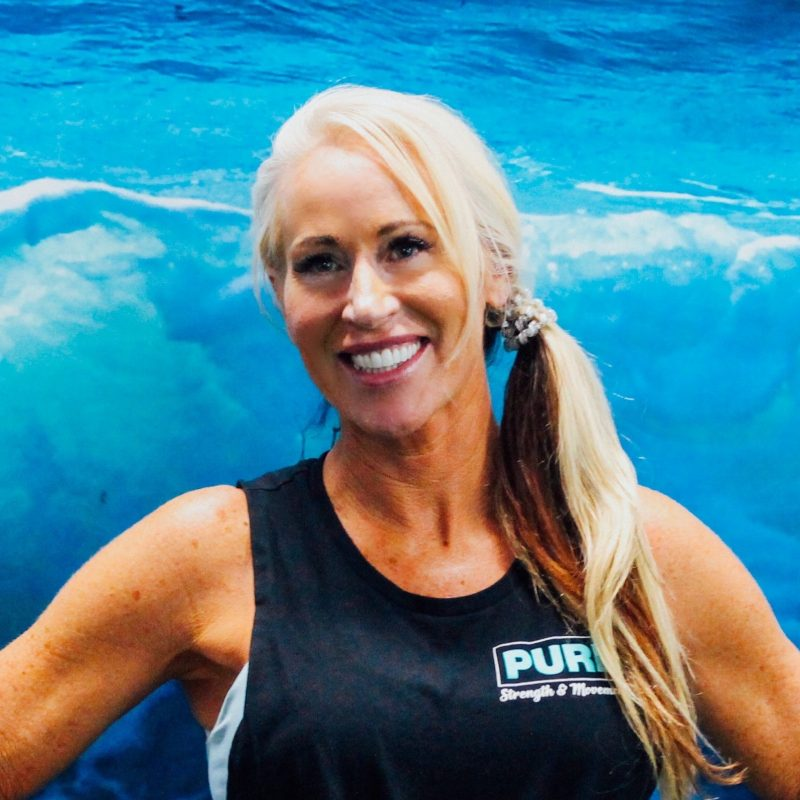 Colette Dunham a personal trainer at Pure Strength and Movement in Tampa, Florida