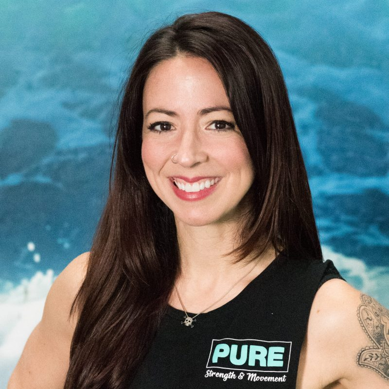 Crystal Kage a personal trainer at Pure Strength and Movement in Tampa, Florida