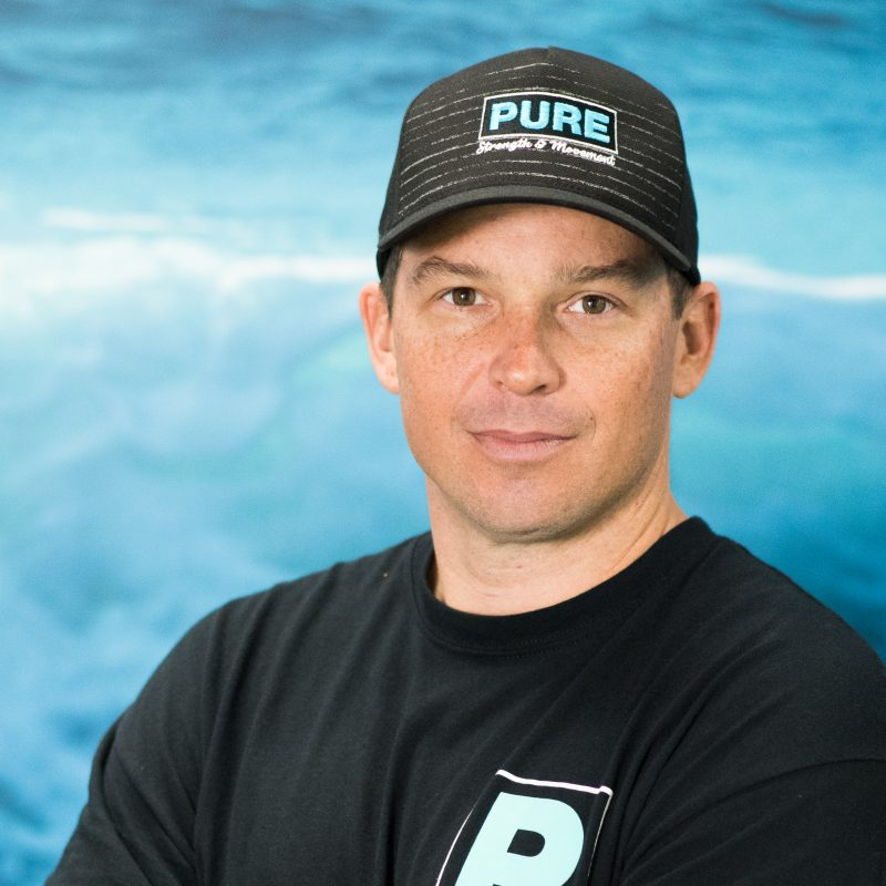 Garrett McCoy a personal trainer at Pure Strength and Movement in Tampa, Florida