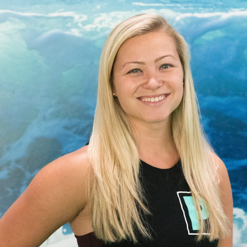 Morgan Beck a personal trainer at Pure Strength and Movement in Tampa, Florida