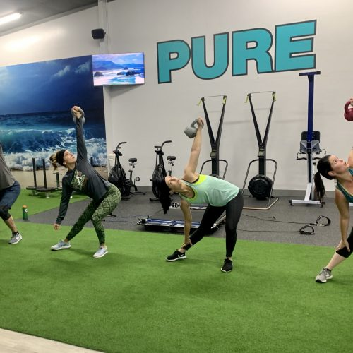 PURE Strength and Movement Fitness Group Training with Dumbells