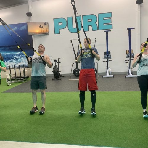 Group workout at PURE Strength and Movement in Tampa