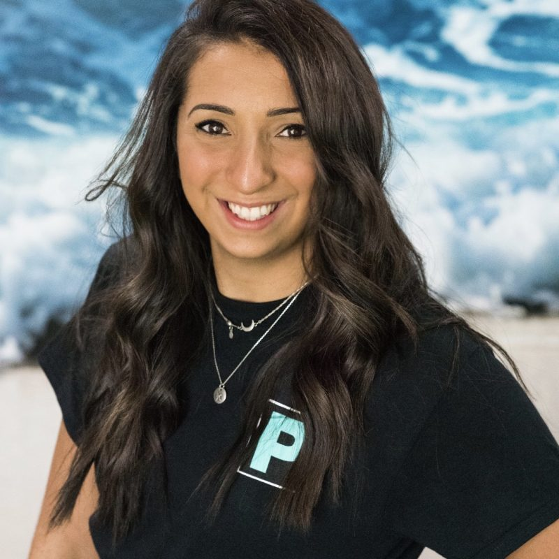 Taylor Lentz a personal trainer at Pure Strength and Movement in Tampa, Florida