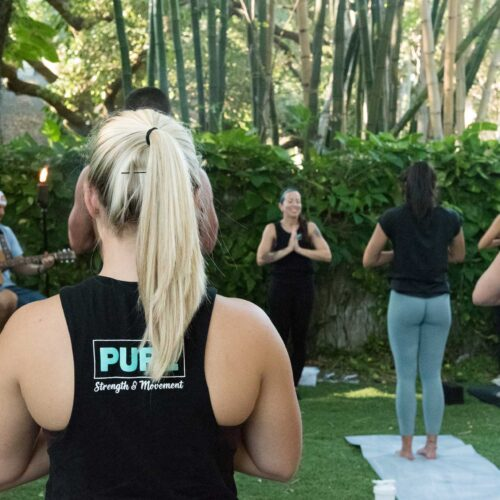 Pure Strength & Movement Outdoor Yoga in Tampa, Florida
