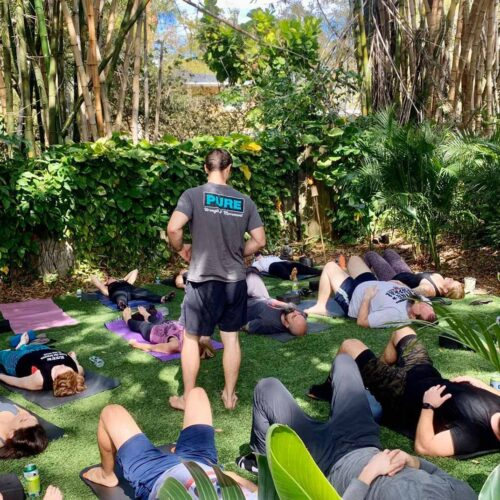 PURE Strength and Movement Yoga Outdoor Tampa